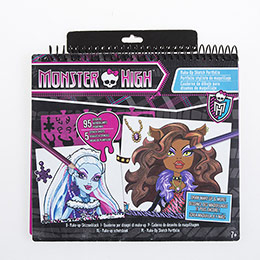 FA Monster High Tasarım Portfolto-Makyaj Tasarımı