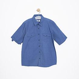 Erkek Çocuk Gömlek Lacivert (8-12 yaş)