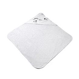 Erkek Bebek Battaniye Beyaz