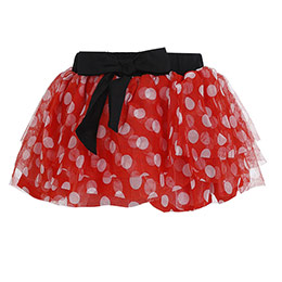 Disney Minnie Kız Çocuk Etek Kırmızı (74 cm-7 yaş)