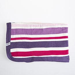 Kız Bebek Battaniye Çizgili