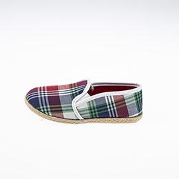 Erkek Çocuk Bez Ayakkabı Ekose (26-30 numara)