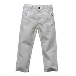 Captain Erkek Çocuk Pantolon Beyaz (74 cm- 7 yaş)