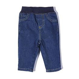Erkek Bebek Kot Pantolon İndigo (0-3 yaş)