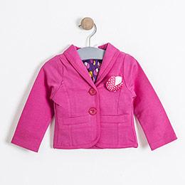 Kız Çocuk Ceket koyu Pembe(74 cm-7 yaş)