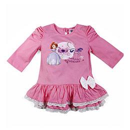 Disney Sofia Romantic Fırfırlı Elbise (2-8 yaş)