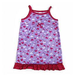 Kız Çocuk Gecelik Lila(1-7 yaş)