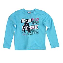 Tailor Girl Kız Çocuk Sweatshirt Turkuaz (7-12 yaş)