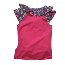 Kız Çocuk Tişört Fuşya (3-12 yaş)