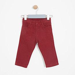 Erkek Çocuk Pantolon Vişne (74 cm-7 yaş)