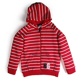 Erkek Çocuk Sweatshirt Kırmızı (74 cm-7 yaş)