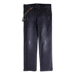 Erkek Çocuk Kot Pantolon Siyah (7-12 yaş)