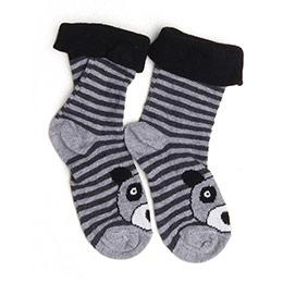 Erkek Bebek Çorap Siyah (14-22 numara)
