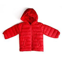 Erkek Bebek Mont Kırmızı (6 ay-3 yrs)