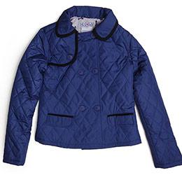 Pop Glam Kız Çocuk Ceket Açık Lacivert (8-12 yaş)