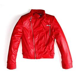 Mademoiselle Girl Kız Çocuk Ceket Kırmızı (8-12 yaş)