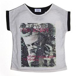 Kız Garson T-Shirt Kemik