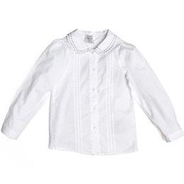 Kız Newborn Gömlek Beyaz