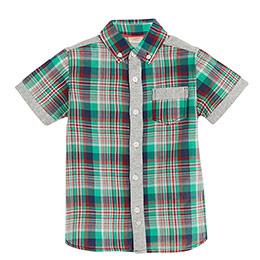 Erkek Çocuk Gömlek Yeşil (2-7 yaş)