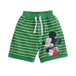 Disney Mickey Mouse Şort Yeşil (9 ay-7 yaş)