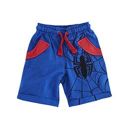 Ultimate Spider-Man Şort Mavi (2-8 yaş)