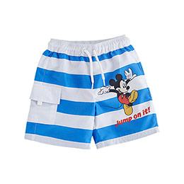 Disney Mickey Mouse Şort Mayo Beyaz (9 ay-7 yaş)