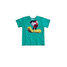 Disney Mickey Mouse Erkek Çocuk Kısa Kol Tişört Yeşil  (9 ay-7 yaş)
