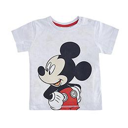 Disney Mickey Mouse Tişört Kısa Kol Beyaz  (9 ay-7 yaş)