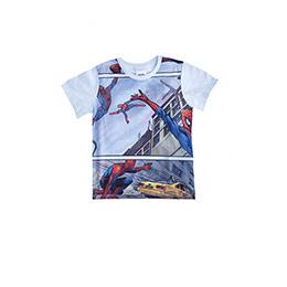 Ultimate Spider-Man Kısa Kol Tişört  Beyaz (2-8 yaş)
