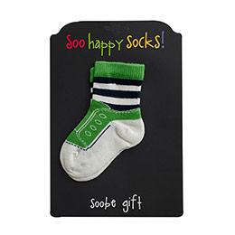 Erkek Bebek Çorap Yeşil (15-22 numara)
