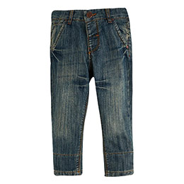 Erkek Çocuk Kot Pantolon Lacivert (0- 3 yaş)