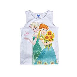 Disney Frozen Kolsuz Tişört Beyaz  (4-7 yaş)