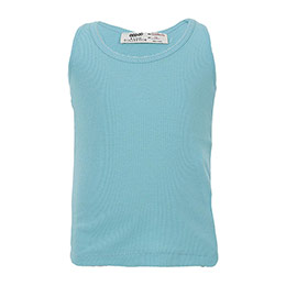 Kız Çocuk Kolsuz Tişört Aqua (9 ay-12 yaş)