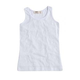 Kız Çocuk Kolsuz Tişört Beyaz (9 ay-12 yaş)