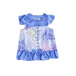 Kız Çocuk Kolsuz Bluz Lila (2-7 yaş)