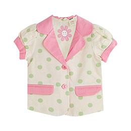 Sun Flower Kız Çocuk Ceket Pembe (9 ay -5 yaş)