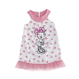 Disney Minnie Kolsuz Elbise Beyaz  (9 ay- 7 yaş)