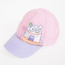 Kız Çocuk Şapka Tropik Şeftali  (0-3 ay)