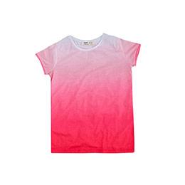 Kız Çocuk Kısa Kol Tişört Pembe (9 ay-12 yaş)