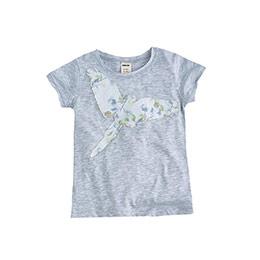 Imitation Bird Kısa Kol Tişört Açık Gri Melanj  (2-7 yaş)