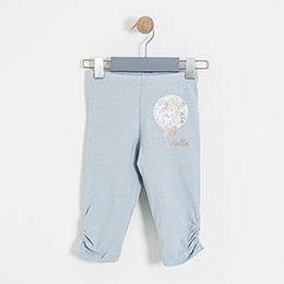 Lisanslı Disney Cinderella Tayt Buz Mavi  (4-7 yaş)