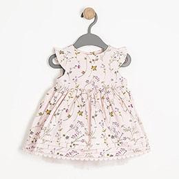 Bonbon Chic Kolsuz Elbise ve Külot Set Pembe (0-24 ay)