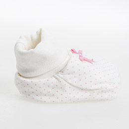 Picnic Blossom Kız Bebek Patik Ekru Standart