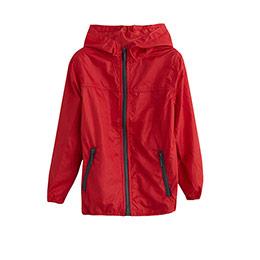Çocuk Yağmurluk Kırmızı (7-12 yaş)