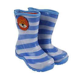 Erkek Çocuk Yağmur Botu Saks Mavi (24-29 numara)