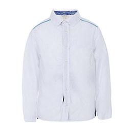 Erkek Çocuk Uzun Kol Gömlek Beyaz (3-7 yaş)
