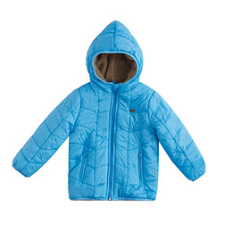 Erkek Bebek Mont Mavi (0-3 yaş)