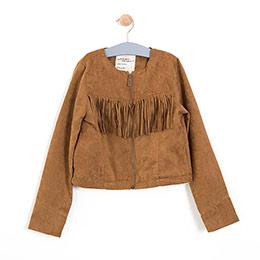 Kız Çocuk Ceket Taba (8-10 yaş)