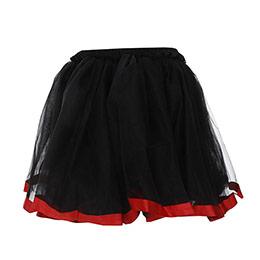 Kız Çocuk Fırfırlı Etek Siyah (8-10 yaş)