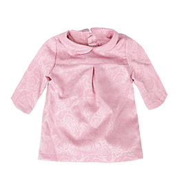 Kız Bebek Uzun Kol Bluz-Külot Set Gül Kurusu (0-2 yaş)